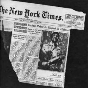 Famoso corresponsal americano entrevista a Fidel Castro