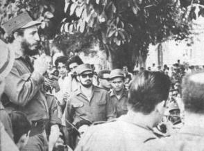 Fidel Dirigió personalmente las acciones que frustraron la conspiración y el desembarco contrarrevolucionario en Trinidad.