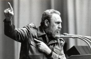 Fidel en la clausura del iv Encuentro del Foro de Sao Paulo. Foto: Juvenal Balán