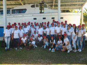 Los jóvenes profesionales del derecho proceden de todas las provincias del país/FOTO: Roberto Mesa Matos.
