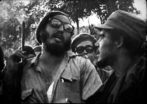 Fidel en las cercanías de La Lima, 1961
