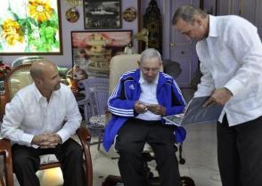 Fidel recibió a los Cinco, liberados tras cumplir injustas condenas en cárceles de EE.UU.