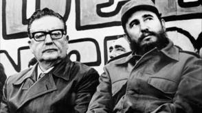 Allende war ein großer Freund Fidels, des Che und der kubanischen Revolution. Photo: Tomada de Archivo