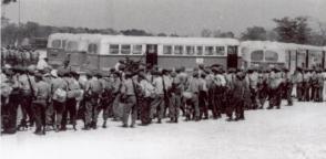 Llegada de las Milicias Nacionales Revolucionarias a la zona de Playa Larga y Playa Girón