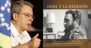 """Frei Betto en la presentación de su libro """"Fidel y la Religión"""""""