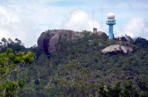 Radar de la Gran Piedra en Santiago de Cuba