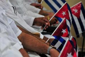 La población brasileña fue beneficiada por la generosa competencia de los médicos cubanos, dijo Rousseff.
