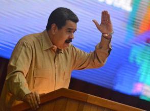 Nicolás Maduro Moros, presidente de Venezuela, pronuncia discurso en el acto por el XII Aniversario de la Alianza Bolivariana para los Pueblos de Nuestra América – Tratado de Comercio de los Pueblos