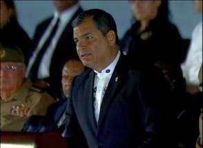 Rafael Correa Delgado, presidente de la República del Ecuador