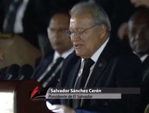 Salvador Sánchez Cerén, presidente de El Salvador