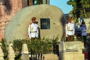 Los restos de Fidel descansan en Santa Ifigenia. Foto: Periódico Sierra Maestra.