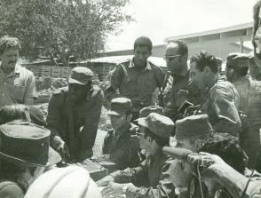 El encuentro entre las fuerzas beligerantes tuvo lugar el 1ro. de abril de 1976. Autor: Archivo de las FAR