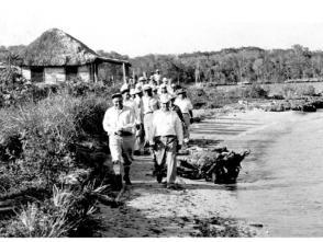 Fidel Castro en la Ciénaga de Zapata