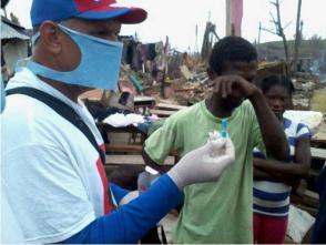 Brigada médica cubana realizan labor preventiva en Haití