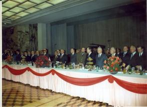 Asistie al 70 aniversario de la gran Revolución Socialista de Octubre en Moscú