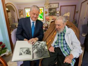 Fidel Castro y el Señor Abdelmalek Sellal, Primer Ministro de la República Argelina Democrática y Popular