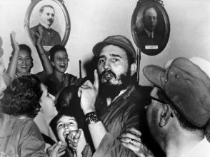 Fidel Castro en Cienfuegos, 1959.