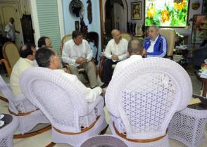 Fidel Castro y los cinco antiterroristas cubanos