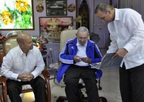 Fidel Castro Ruz, Antonio Guerrero y Gerardo Hernández Nordelo