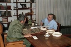 Entrevista concedida al periodista italiano Gianni Miná