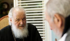 Fidel Castro Ruz y su Santidad Kirill, Patriarca de Moscú y de Toda Rusia