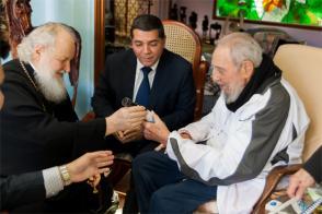 Fidel Castro Ruz y Santidad Kirill, Patriarca de Moscú y de Toda Rusia