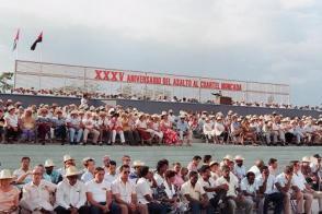 XXXV Aniversario del Asalto al Cuartel Moncada. Santiago de Cuba
