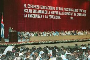Graduación del Instituto Superior Pedagógico y los Primeros Licenciados en Enseñanza Primaria