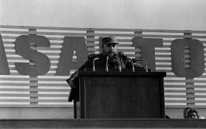 Acto central por el XXXI Aniversario del 26 de Julio en Cienfuegos
