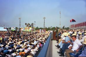 Conmemoración del XXXI Aniversario del Asalto al Cuartel Moncada