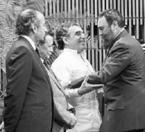 """Impone la Orden """"Félix Varela"""" de Primer Grado a Gabriel García Márquez"""