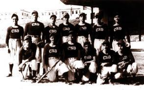 Fidel Castro Ruz en el Colegio de Belén, 1944