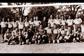Fidel Castro Ruz. Colegio de Belén del equipo de fútbol, 1943
