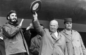 En la apertura de los Juegos Deportivos en la URSS