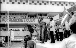 Fidel Castro Ruz en la Isla de la Juventud, 1977