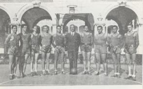 Fidel Castro Ruz_Jugador de baloncesto_1943