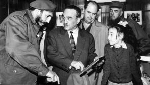 Fidel Castro y Anastás Mikoyán, Viceprimer Ministro de la Unión Soviética