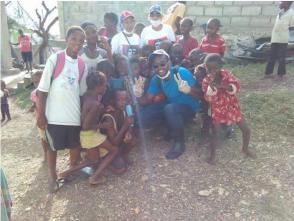 Médicos cubanos junto al pueblo haitiano