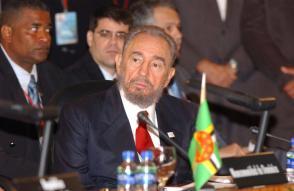 Fidel Castro Ruz en la Cumbre de Petrocaribe, 2005