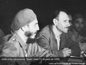 Fidel Castro en Villa Clara, 21 de junio de 1959