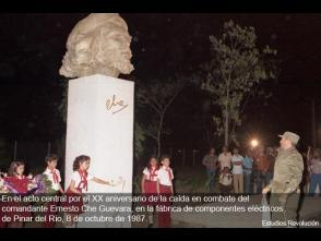 Fidel Castro en Pinar del Río por el XX Aniversario de la caída del Che, Pinar del Río