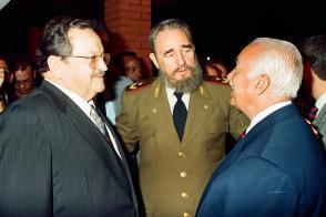 Fidel Castro en Salvador de Bahía, 1993