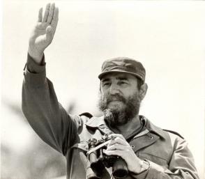 Fidel Castro Ruz el Primero de Mayo de 1978