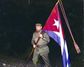 Fidel Castro en Playita de Cajobabo